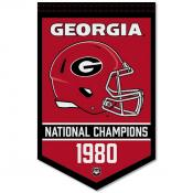 UGA Bulldogs College Football National Champions Banner
