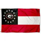 UGA Bulldogs GA State Flag