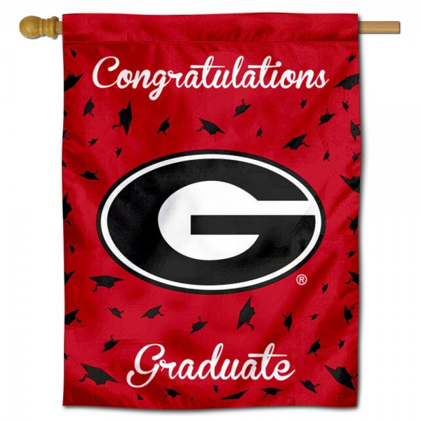 UGA Bulldogs Graduation Banner