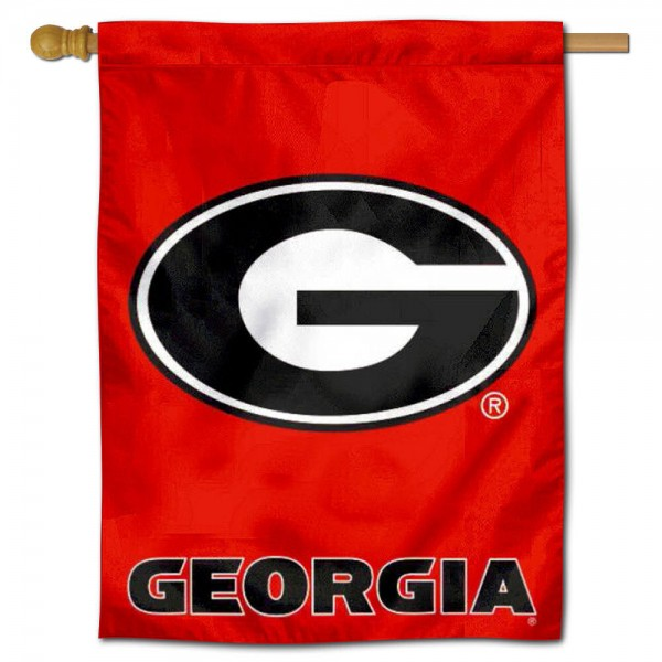 UGA Bulldogs House Flag