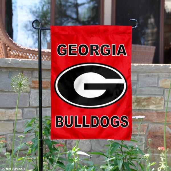 UGA Bulldogs Yard Flag