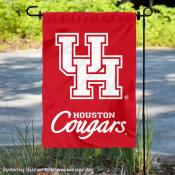 UH Cougars Double Logo Garden Flag