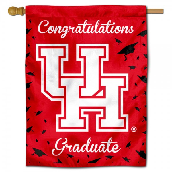 UH Cougars Graduation Banner
