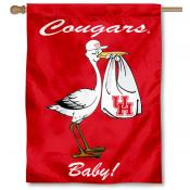 UH Cougars New Baby Banner