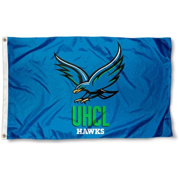 UHCL Hawks 3x5 Foot Pole Flag