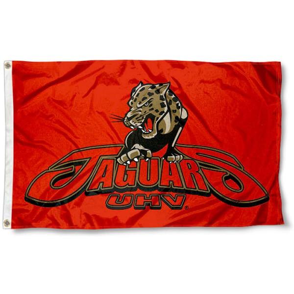 UHV Jaguars 3x5 Foot Pole Flag