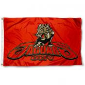 UHV Jaguars 3x5 Foot Pole Flag