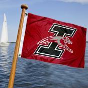 UIndy Greyhounds Boat Nautical Flag
