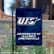 UIS Prairie Stars Garden Flag