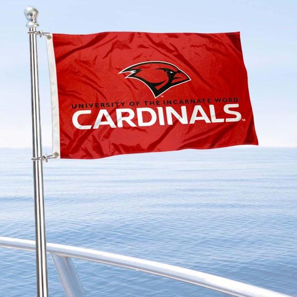 UIW Cardinals Boat Nautical Flag