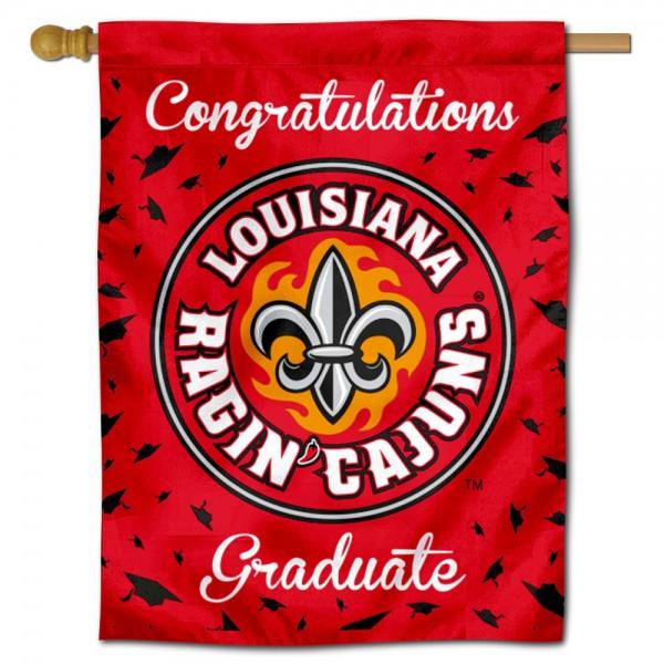 UL Lafayette Ragin Cajuns Graduation Banner