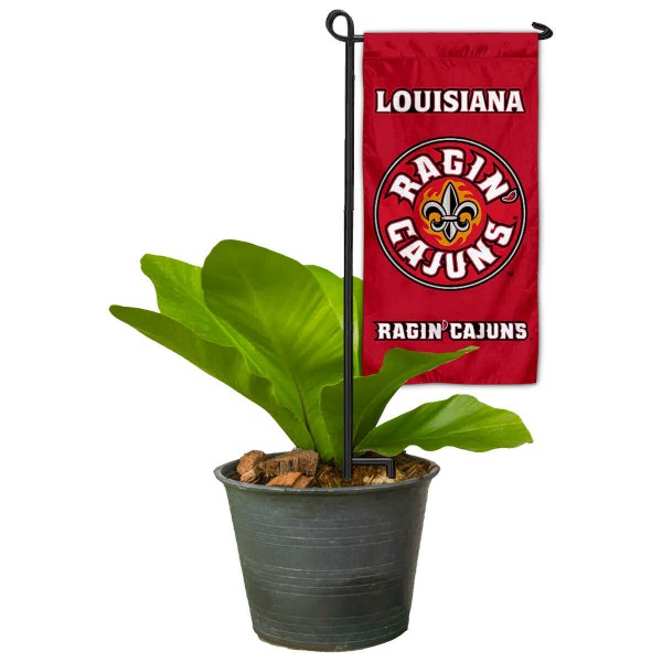 UL Lafayette Ragin Cajuns Mini Garden Flag and Table Topper