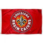 UL Lafayette Rajun Cajuns 3x5 Foot Pole Flag