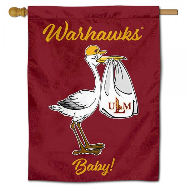 UL Monroe Warhawks New Baby Banner