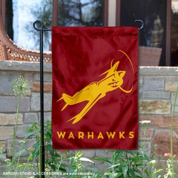 UL Monroe Warhawks P-40 Garden Flag