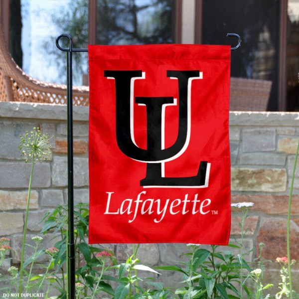UL Ragin Cajuns Garden Flag
