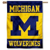 UM Wolverines House Flag