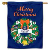 UMary Marauders Christmas Holiday House Flag