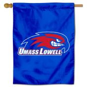 UMass Lowell River Hawks House Flag