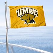 UMBC Retrievers Boat Nautical Flag