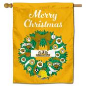 UMBC Retrievers Christmas Holiday House Flag