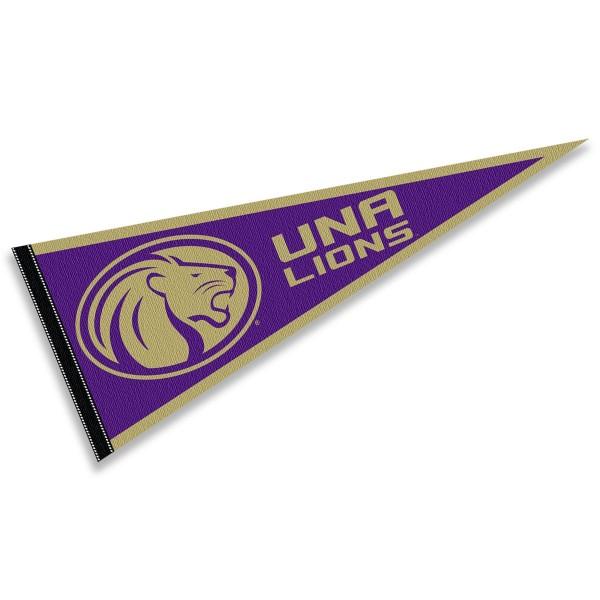 UNA Lions Pennant