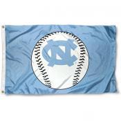 UNC Baseball Flag