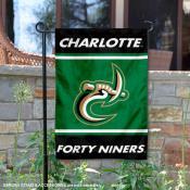 UNC Charlotte 49ers Garden Flag