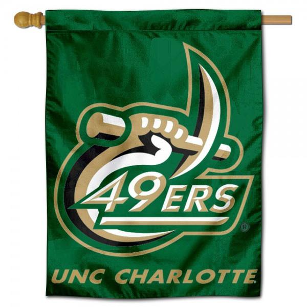 UNC Charlotte House Flag
