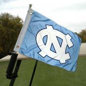 UNC Golf Cart Flag