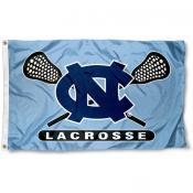 UNC Lacrosse Flag