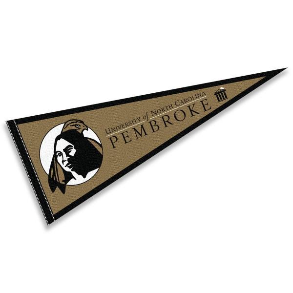 UNC Pembroke Braves Pennant