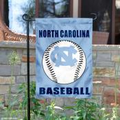 UNC Tar Heels Baseball Garden Banner