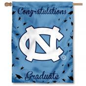 UNC Tar Heels Graduation Banner