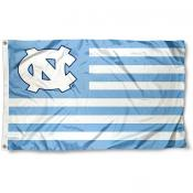 UNC Tar Heels Nation Flag