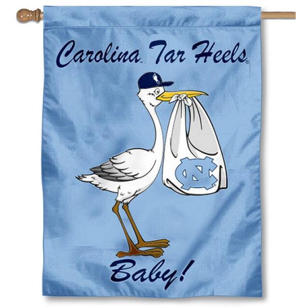UNC Tar Heels New Baby Banner