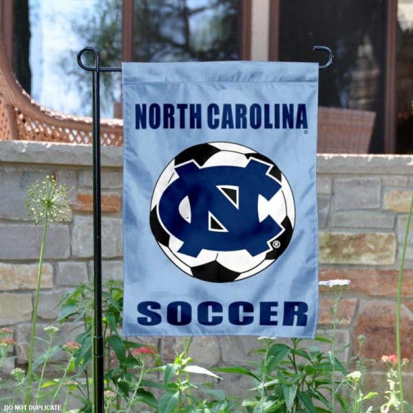 UNC Tar Heels Soccer Garden Flag