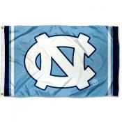 UNC Tar Heels Stripes 3x5 Foot Flag