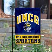UNCG Spartans Garden Flag