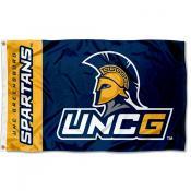UNCG Spartans Logo 3x5 Foot Flag
