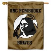 UNCP Braves Banner Flag