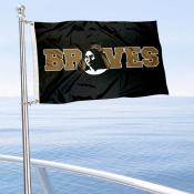 UNCP Braves Boat Nautical Flag