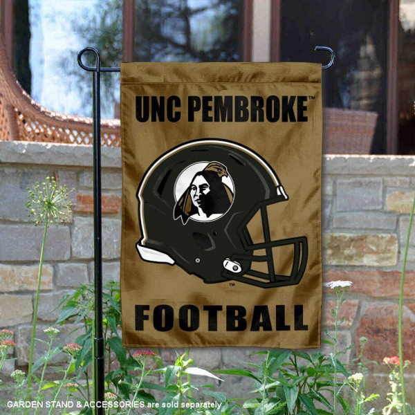 UNCP Braves Football Garden Flag