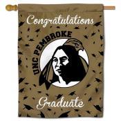 UNCP Braves Graduation Banner