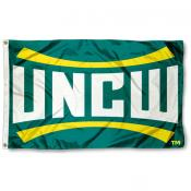 UNCW Seahawks College Flag
