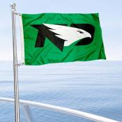 UND Fighting Hawks Boat Nautical Flag