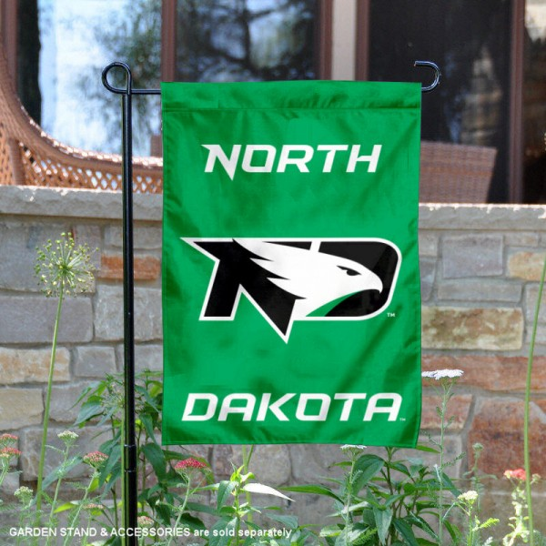 UND Fighting Hawks Garden Flag