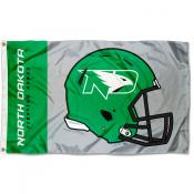 UND Fighting Hawks Helmet Flag