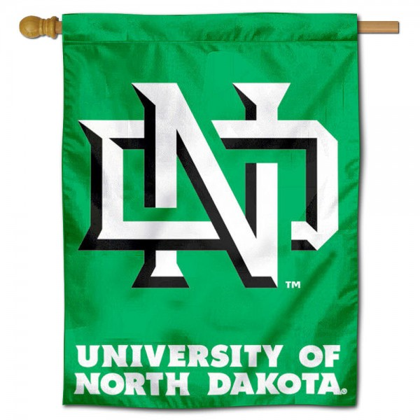 UND Fighting Hawks House Flag