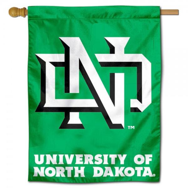 UND Fighting Hawks House Flag